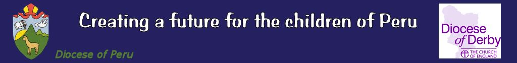 Banner for the Derby Diocese Harvest Appeal 2013 in aid of mission in Chiclayo, Peru